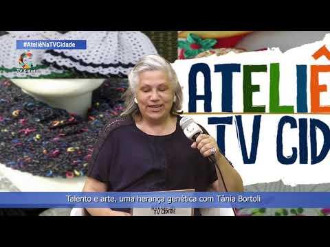 Talento e arte uma herança genética com Tânia Bortoli