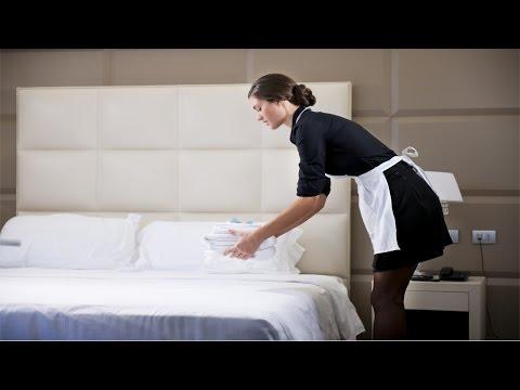 Curso Treinamento de Camareira - Outras Tarefas da Camareira
