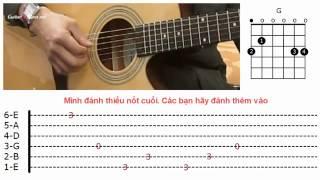 Dạy Học Guitar] [Đệm Hát] [Điệu Ballad]   Tìm lại bầu trời Tuấn Hưng