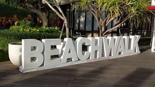 Торговый центр Бали Beach Walk Mall. Новый год 2019 на острове Богов. Зимой в лете за 12.5 часов.