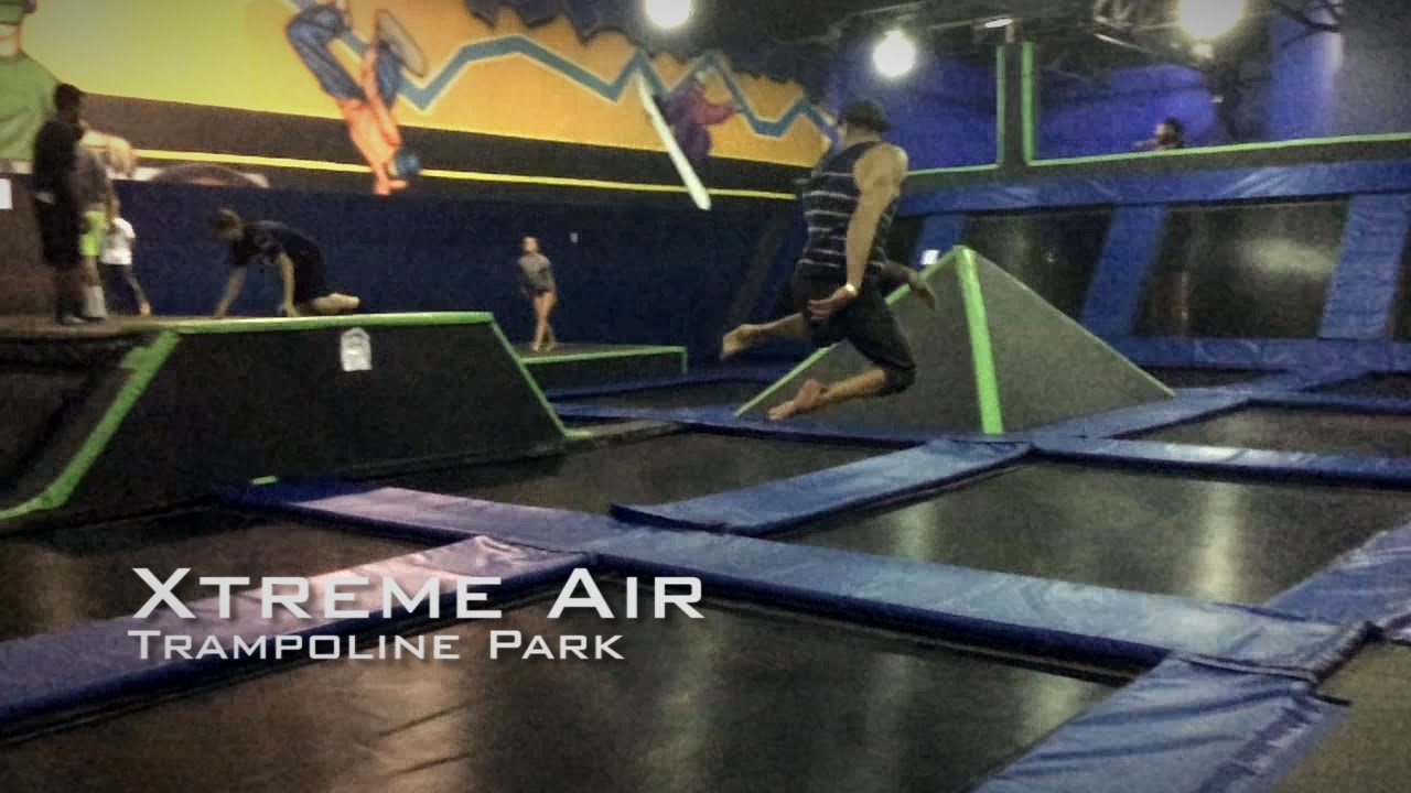 xtreme air trampoline park chandler az youtube. Black Bedroom Furniture Sets. Home Design Ideas