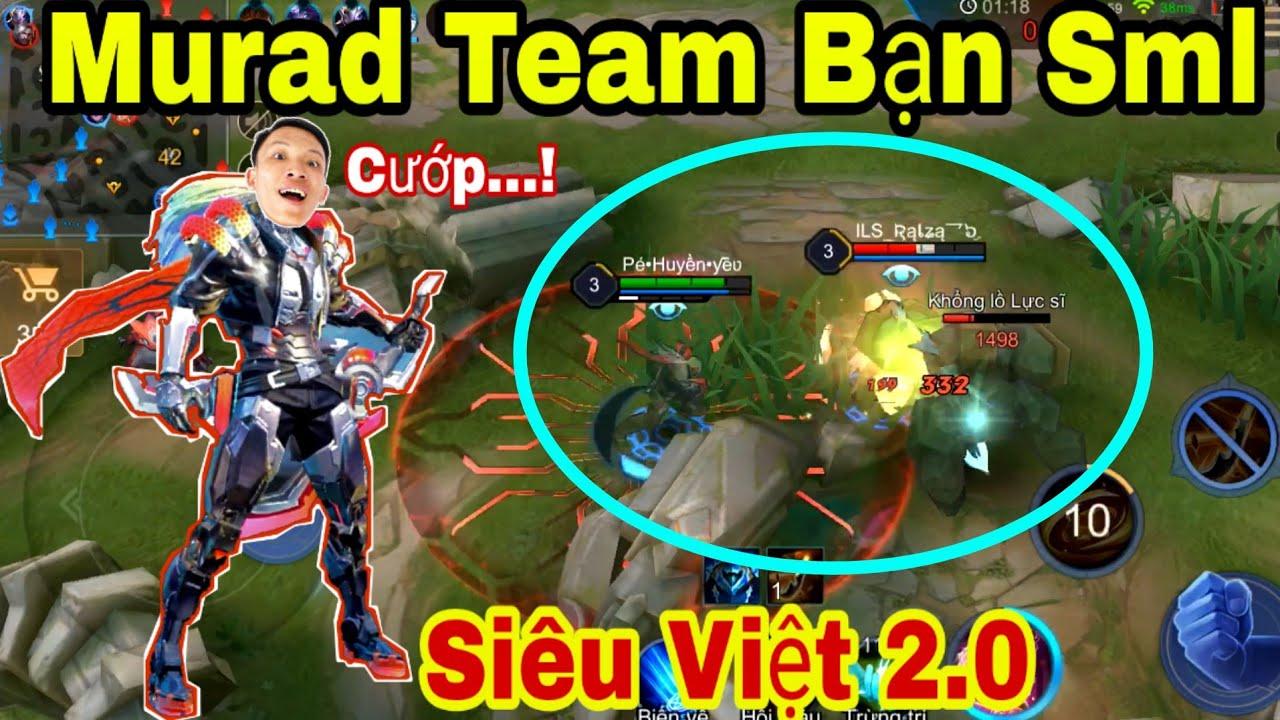 Liên Quân Mobile - Murad Tuyệt Sắc Bậc SS Bị QUILEN Cướp Rừng Và cái kết cho team bạn ? Này thì cướp