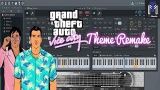GTA Vice City Theme in FL Studio