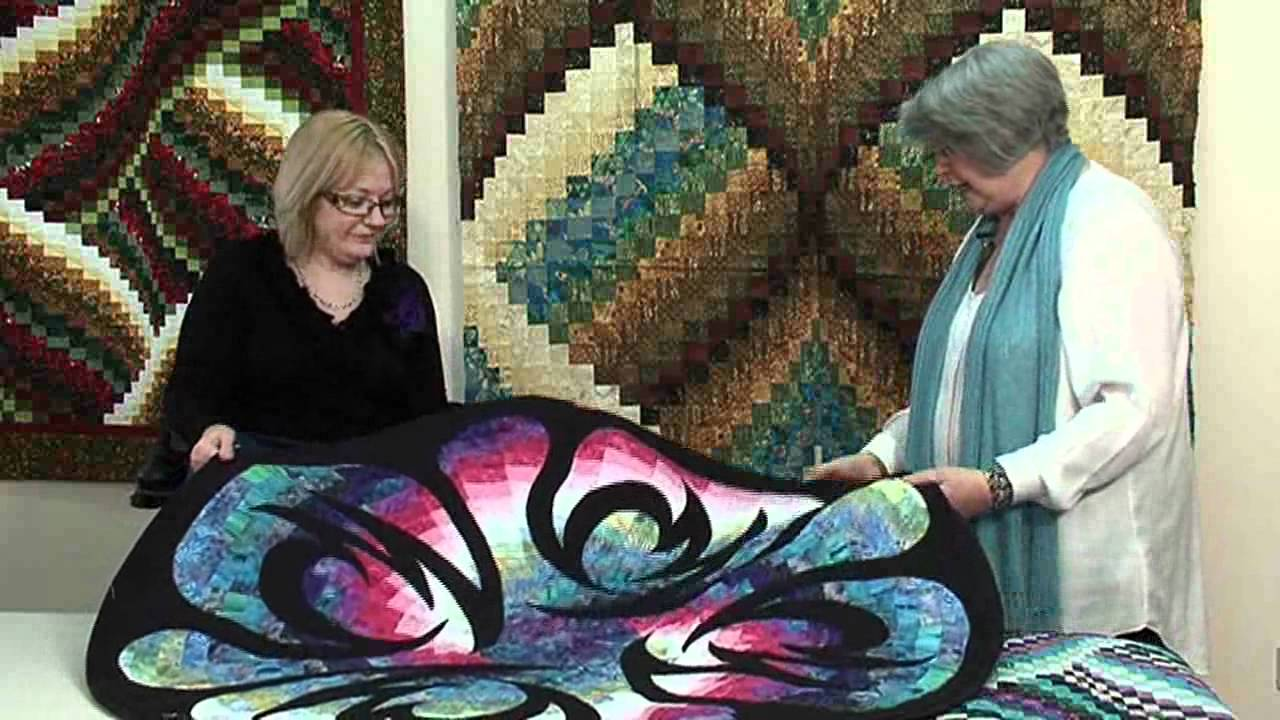 Twisted Bargello Quilt With Jill Adamson And Julie Fernandez At Bee