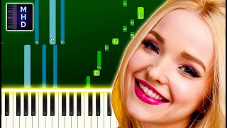 Dove Cameron - We Belong (Piano Tutorial Easy) видео