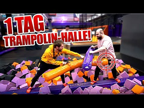 Andre VS Cengiz VS Jan VS ??? - Trampolin Challenge