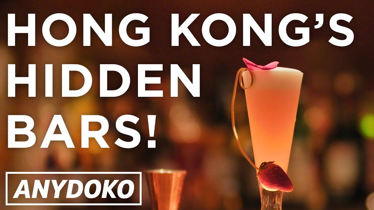 Hong Kong's Best Hidden Bars! Featuring hidden doorways and more!