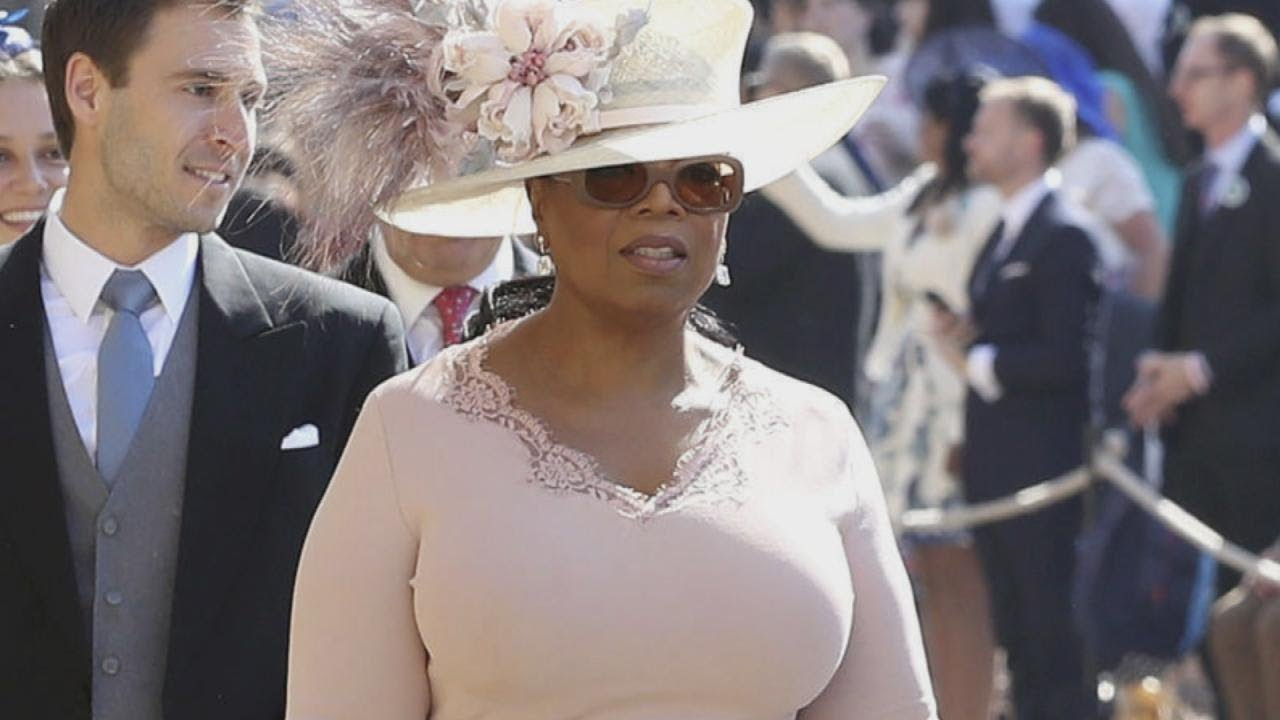 Oprah Winfrey Royal Wedding.Oprah Winfrey Reveals The Royal Wedding Gaffe She Nearly Made