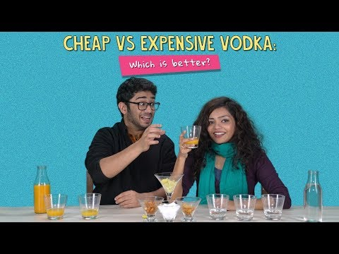 Cheap Vs Expensive Vodka: Which Is Better? | Ft. Antil & Satyam | Ok Tested