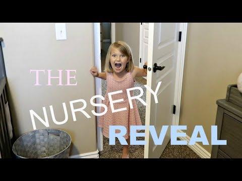 SURPRISE BABY NURSERY ROOM REVEAL!! |  BABY'S NEW ROOM!