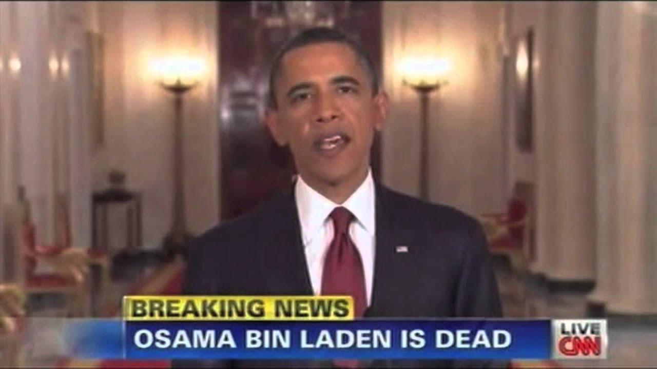 Obama speech: Osama bin Laden is dead - YouTube Obama Bin Laden Speech