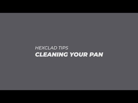 HexClad TIPS: Cleaning Your Cookware