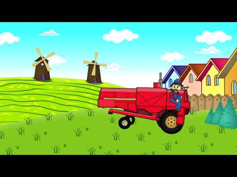 Film Kartun Anak Terbaru Traktor Pak Tani Keren Youtube Animasi