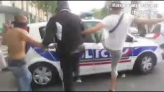 Attaque voitures de police / Attack police cars