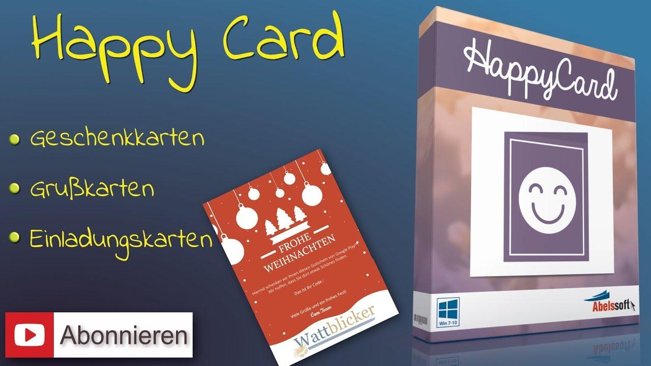 HappyCard« - Grußkarten, Geschenkkarten & Einladungen im ...