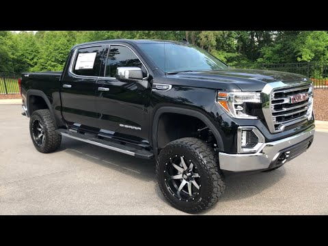 2019 GMC Sierra SLT Lifted Review Test Drive and Features