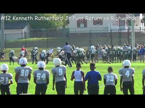 #12 KJ Punt Return vs Richwoods