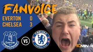 Everton 0-3 Chelsea | Pedro, Cahill and Willian goals give Chelsea huge win! | 90min FanVoice