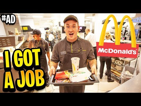 I GOT A JOB AT MCDONALD'S...THIS IS WHAT HAPPENED