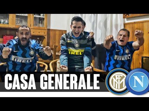 Alta tensione a Casa Generale | LIVE REACTION INTER-NAPOLI 1-0 - Neschio