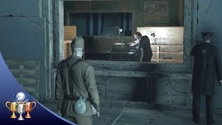 Hitman - Defection Deterred Trophy & Death By Proxy Challenge (KGB colonel kills Jasper Knight)
