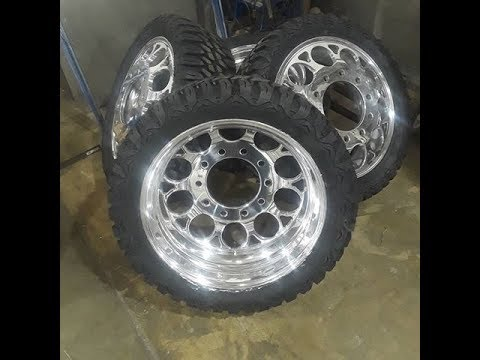 THE TRUTH ABOUT RUNNING UNMILLED WHEELS ON DUALLY
