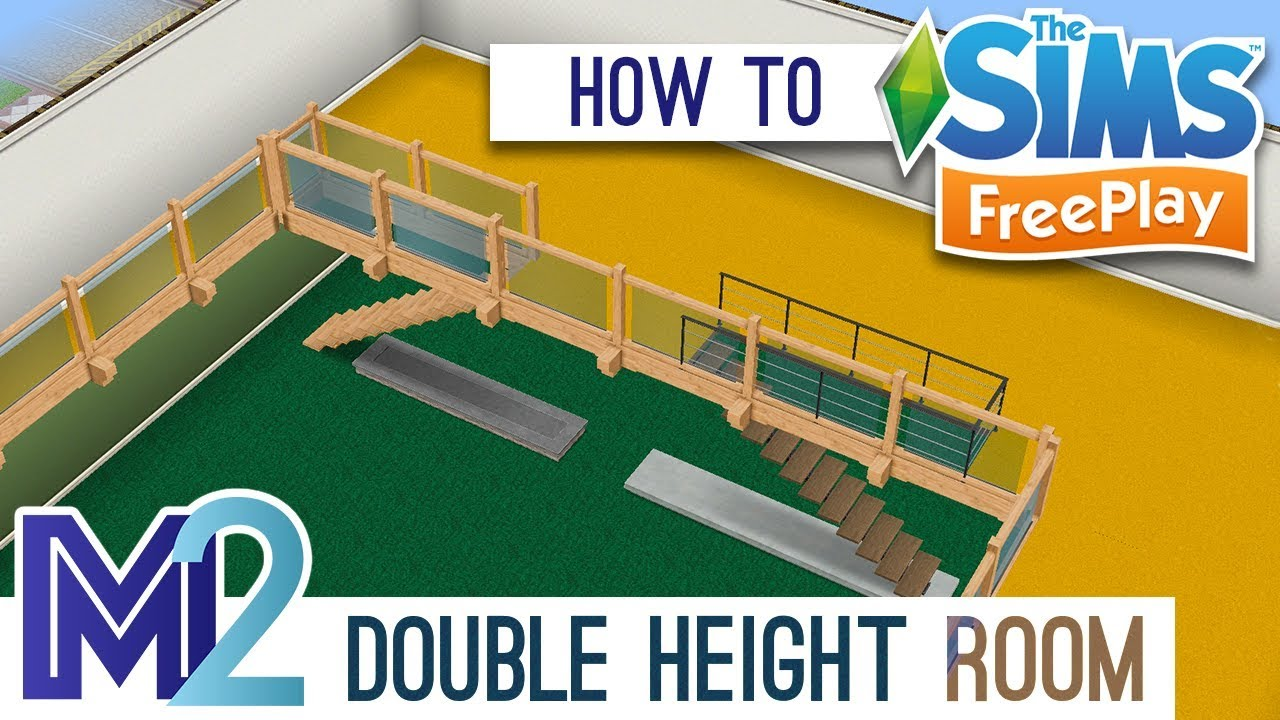 Verdieping Sims Freeplay Sims Freeplay How To Build Double Height Rooms Tutorial Walkthrough