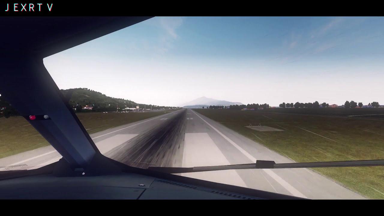 [P3d V3 4] ► Fslabs A320 X @Samos / Lgsm  Kiloskies 03:10 HD