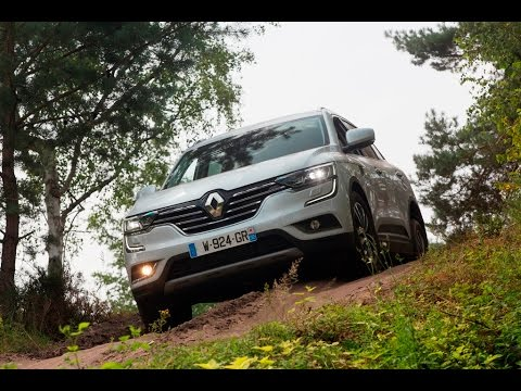 2017 renault koleos off road youtube. Black Bedroom Furniture Sets. Home Design Ideas
