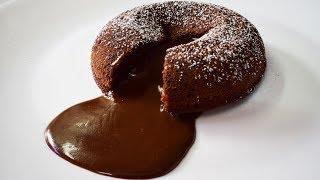 Eggless Choco Lava cake without Oven | एगलेस चोको लावा केक कढ़ाई में | Choco Lava Cake |