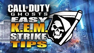 """K.E.M. STRIKE on Free Fall! How to Get an Easy """"KEM Strike"""" Tutorial - COD Ghosts Multiplayer Tips"""