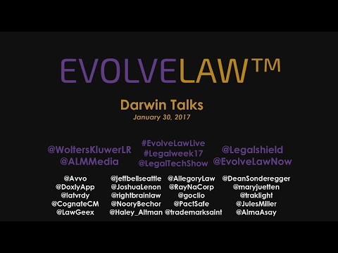 Dozen  Darwin Talks: Future of Law