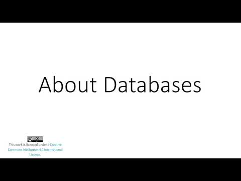About Databases for Intro to Public Health