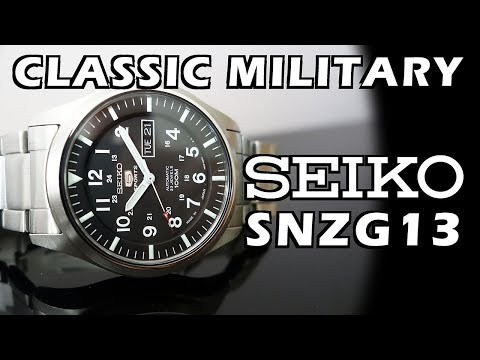 Form Follows Function! Seiko SNZG13 Automatic Watch Review - Perth WAtch #91