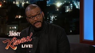 Tyler Perry Got into a Bidding War with Blue Ivy
