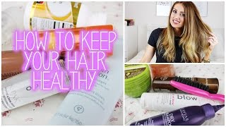 Top 5 Tips: How to Keep Your Hair Healthy | vlogwithkendra