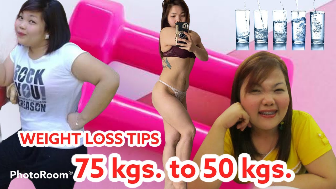 WEIGHT LOSS TIPS | FROM 75kg to 50kg SECRET WAY REVEALED!!! | DEWINS SABADO