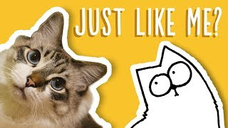 Just Like My Cat - Simon's Cat Snaps | FAN VIDEOS