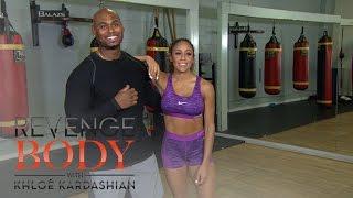 #WorkOutWednesday With Corey Calliet: Jump Squats | Revenge Body With Khloé Kardashian | E!