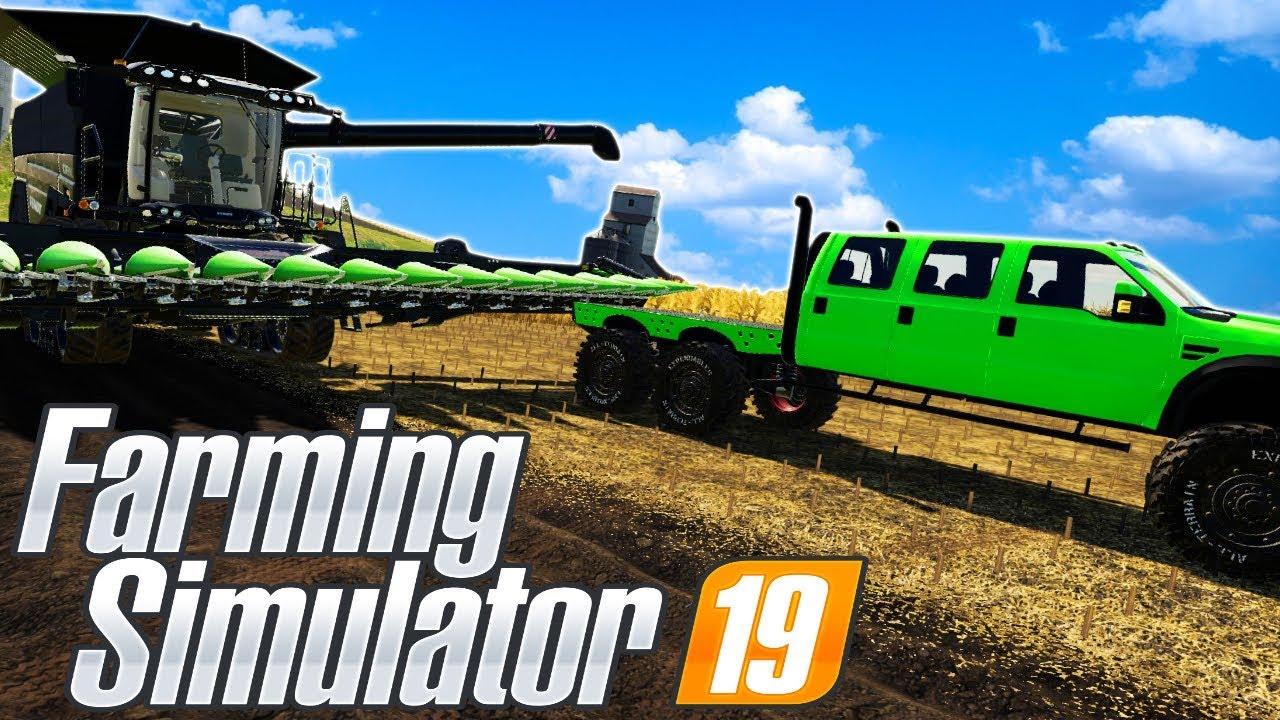 THE GREAT OLYMPIC FARMING TRIATHLON! (Farming Simulator 19 Gameplay  Roleplay) Farm Races!
