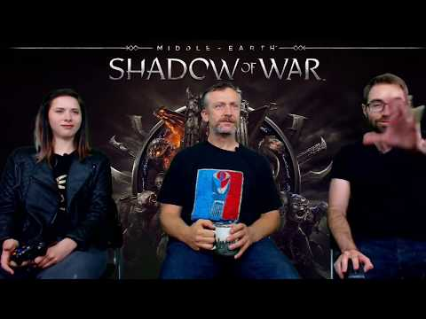 Shadow of War: Wraith Skills, Live Gameplay Stream