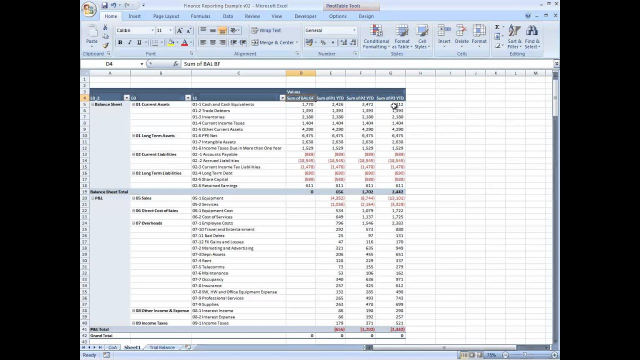 Doc704758 Examples of Financial Reports Touring the Financial – Examples of Financial Reports