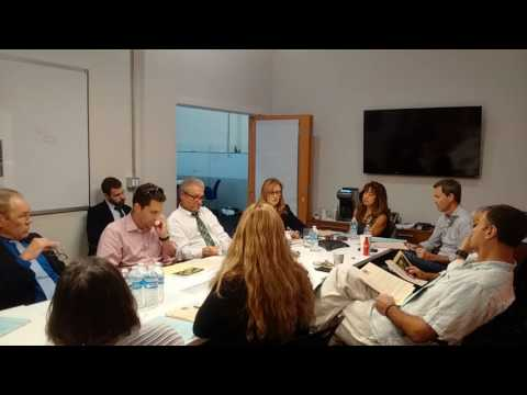 2016 09 15 Hollywood Property Owners Alliance Board Meeting 1/2
