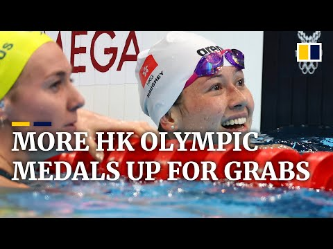 More Olympic medal hopes for Hong Kong as swimmer Siobhan Haughey storms into 100m freestyle final