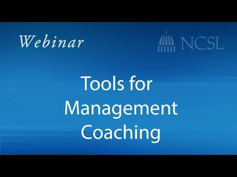 Webinar: Tools for Management Coaching