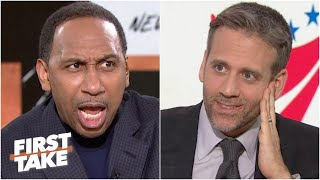'Are you trying to tick me off, Max Kellerman?!' - Stephen A. flips out | First Take