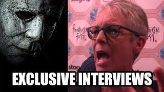 HALLOWEEN - Jamie Lee Curtis, Jason Blum, Danny McBride, Jeff Fradley - Exclusive Interviews