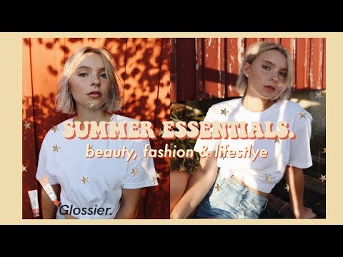 SUMMER ESSENTIALS 2018 | Beauty, Fashion & Lifestyle // Current Favorites