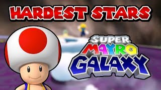 Top 5 Hardest Stars in Super Mayro Galaxy