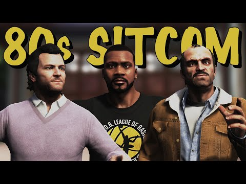 GTA V As An 80s/90s Sitcom Intro [Cinematic | Rockstar Editor]